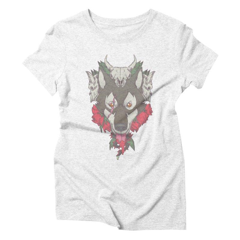 Imperfect Balance Women's Triblend T-shirt by maus ventura's Artist Shop