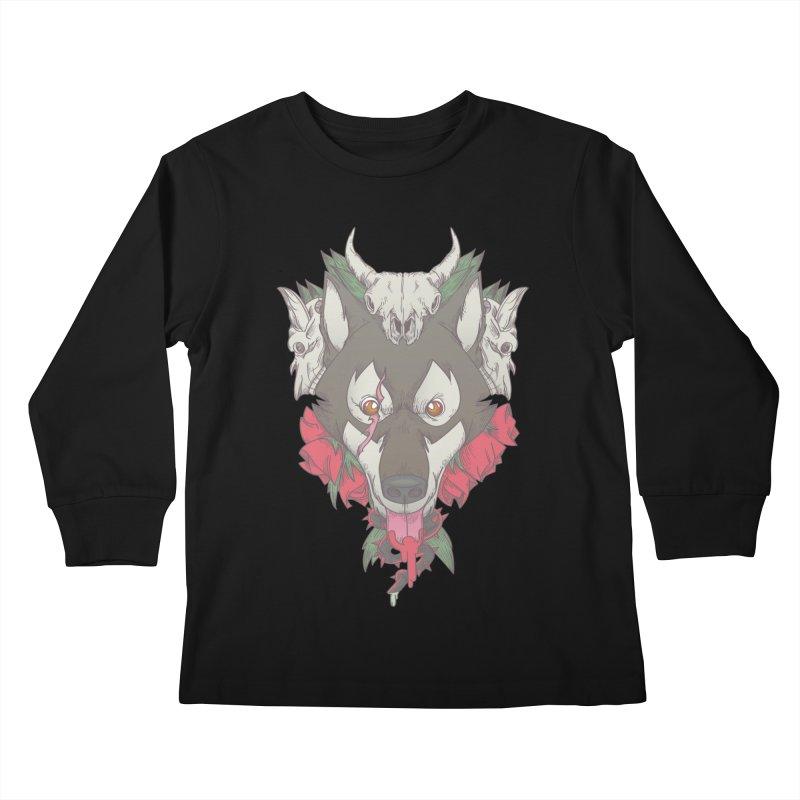 Imperfect Balance Kids Longsleeve T-Shirt by maus ventura's Artist Shop