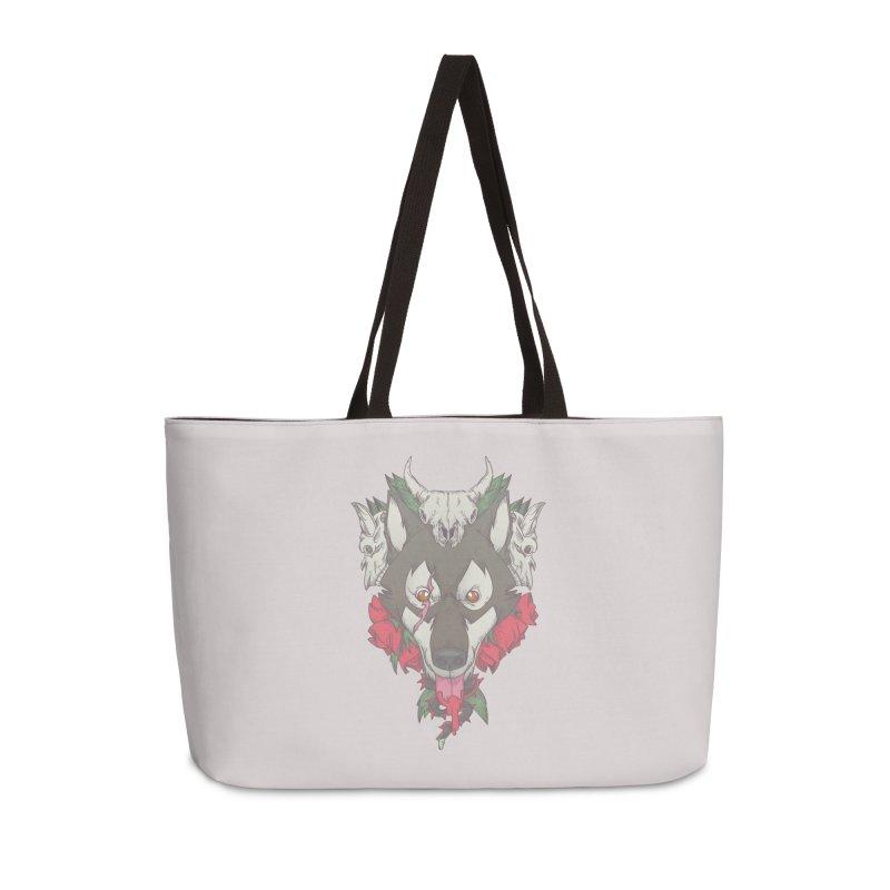 Imperfect Balance Accessories Weekender Bag Bag by maus ventura's Artist Shop