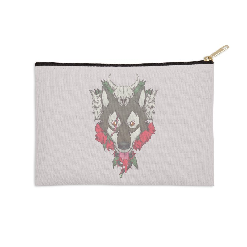 Imperfect Balance Accessories Zip Pouch by maus ventura's Artist Shop