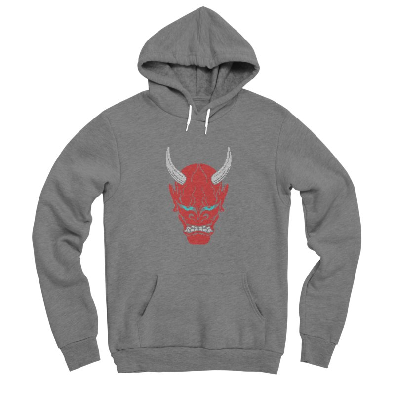 Hannya - Ugly sweater version Women's Sponge Fleece Pullover Hoody by maus ventura's Artist Shop
