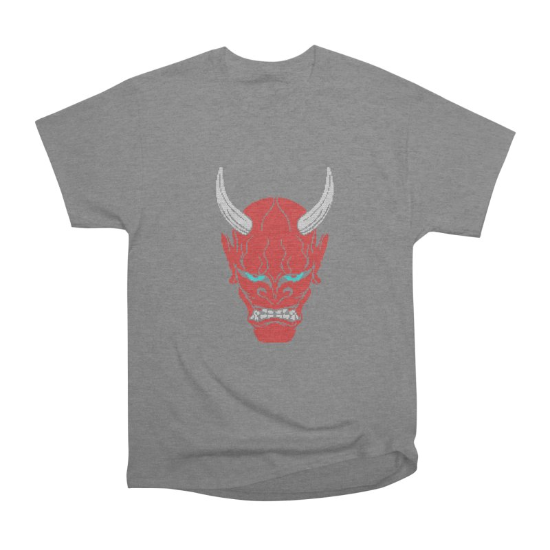 Hannya - Ugly sweater version Men's Heavyweight T-Shirt by maus ventura's Artist Shop