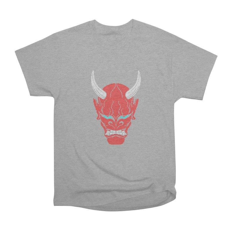 Hannya - Ugly sweater version Men's Heavyweight T-Shirt by maus ventura's Artist Shop