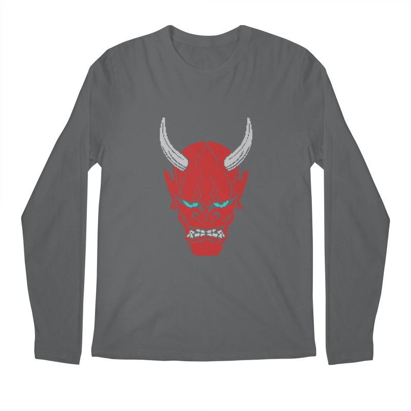 Hannya - Ugly sweater version Men's Regular Longsleeve T-Shirt by maus ventura's Artist Shop