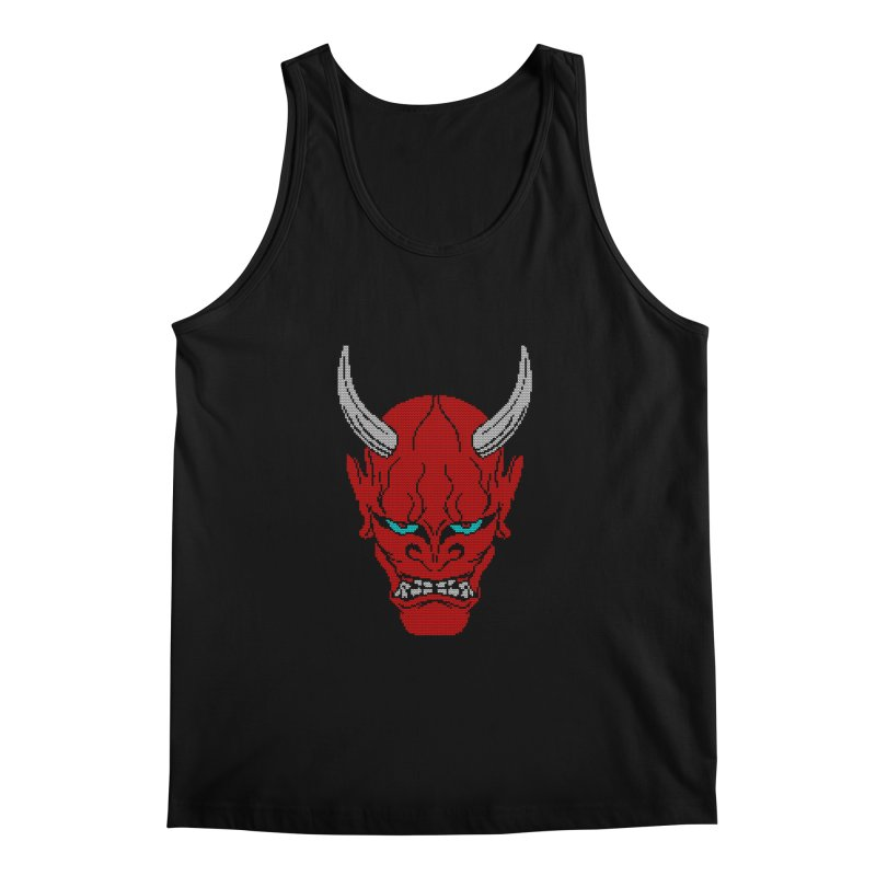 Hannya - Ugly sweater version Men's Regular Tank by maus ventura's Artist Shop