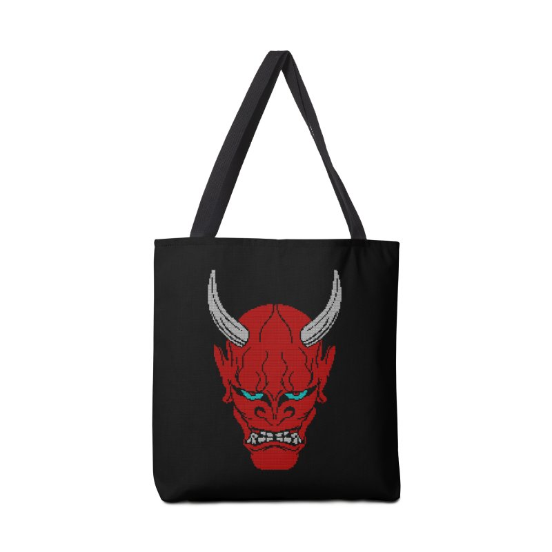Hannya - Ugly sweater version Accessories Tote Bag Bag by maus ventura's Artist Shop