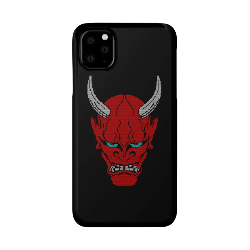 Hannya - Ugly sweater version Accessories Phone Case by maus ventura's Artist Shop