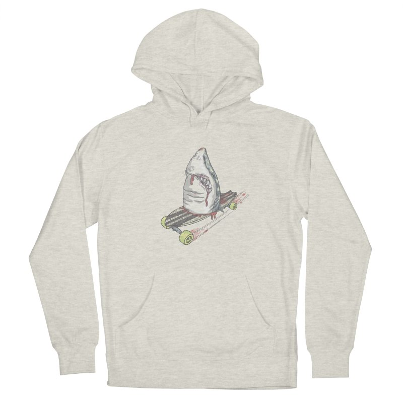 Killing Time Women's French Terry Pullover Hoody by maus ventura's Artist Shop