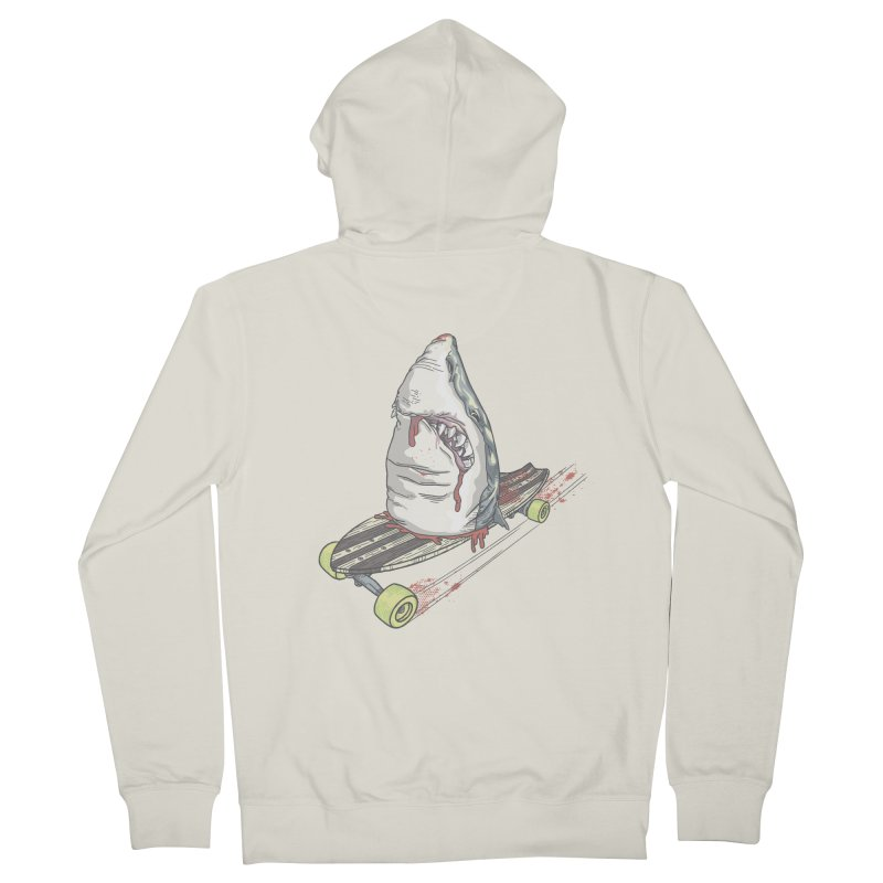 Killing Time Women's Zip-Up Hoody by maus ventura's Artist Shop