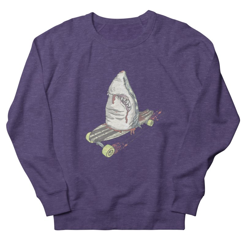 Killing Time Women's French Terry Sweatshirt by maus ventura's Artist Shop