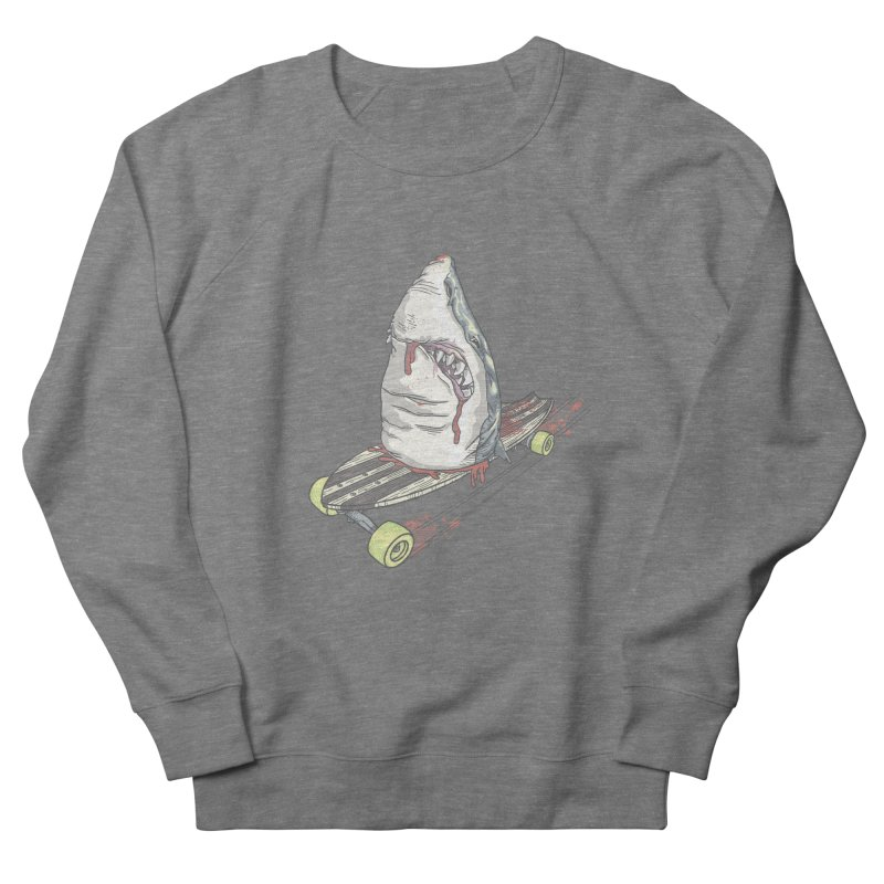 Killing Time Men's French Terry Sweatshirt by maus ventura's Artist Shop