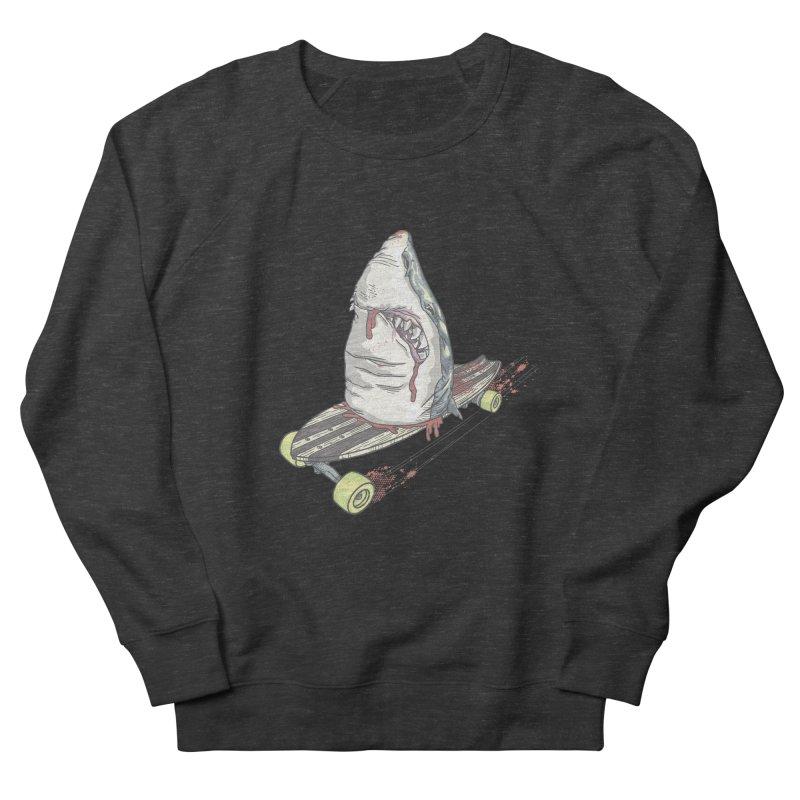 Killing Time Men's French Terry Sweatshirt by maus ventura's Artist Shop