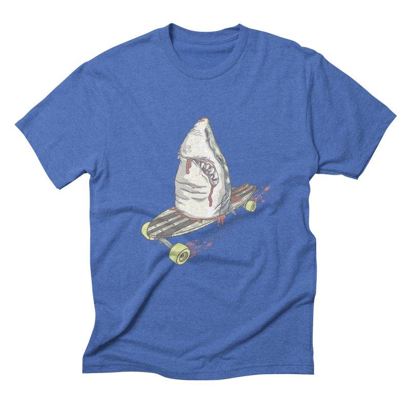 Killing Time Men's Triblend T-Shirt by maus ventura's Artist Shop