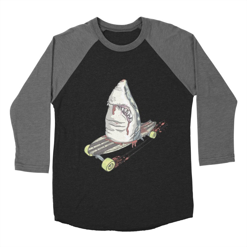 Killing Time Women's Baseball Triblend Longsleeve T-Shirt by maus ventura's Artist Shop