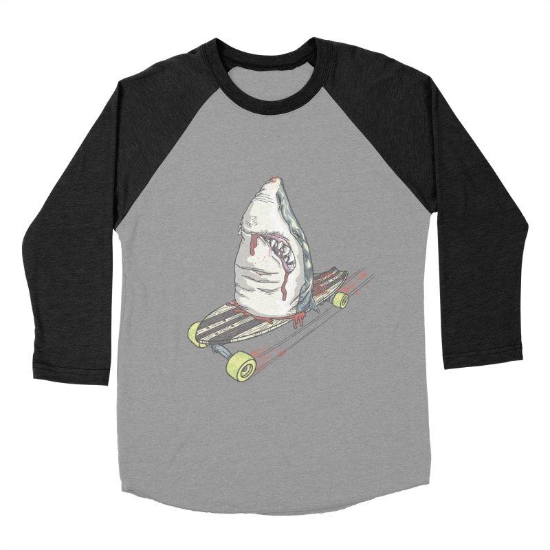 Killing Time Men's Baseball Triblend T-Shirt by maus ventura's Artist Shop