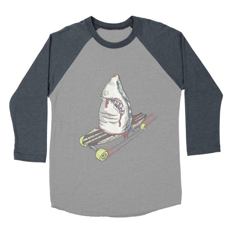 Killing Time Men's Baseball Triblend Longsleeve T-Shirt by maus ventura's Artist Shop