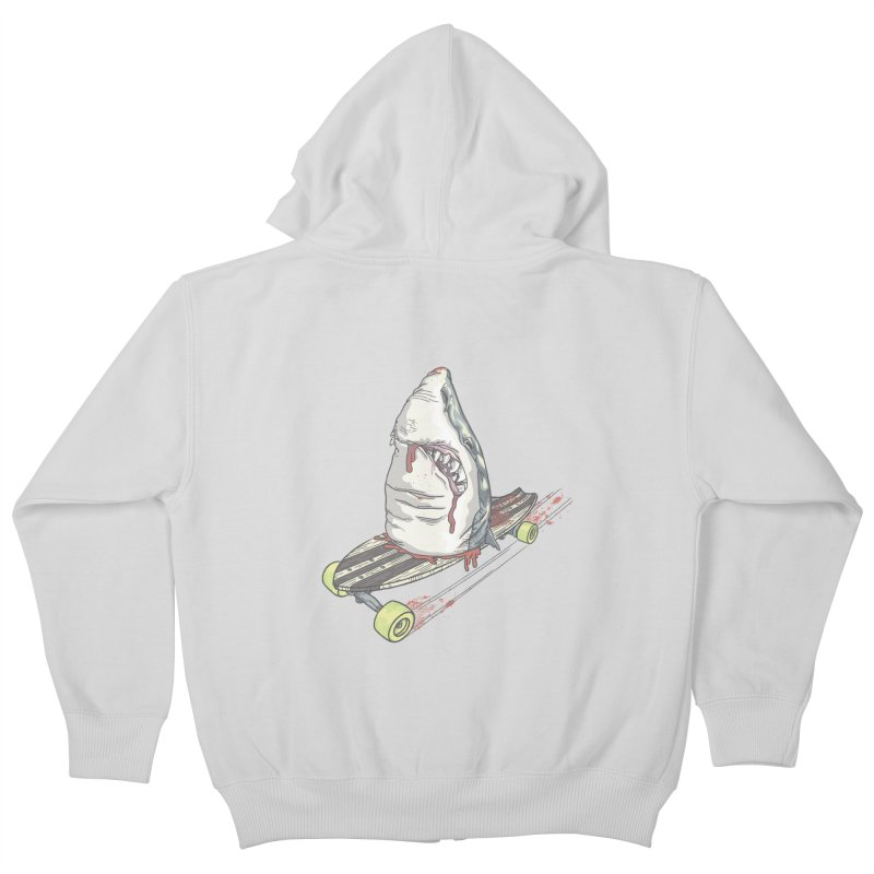 Killing Time Kids Zip-Up Hoody by maus ventura's Artist Shop