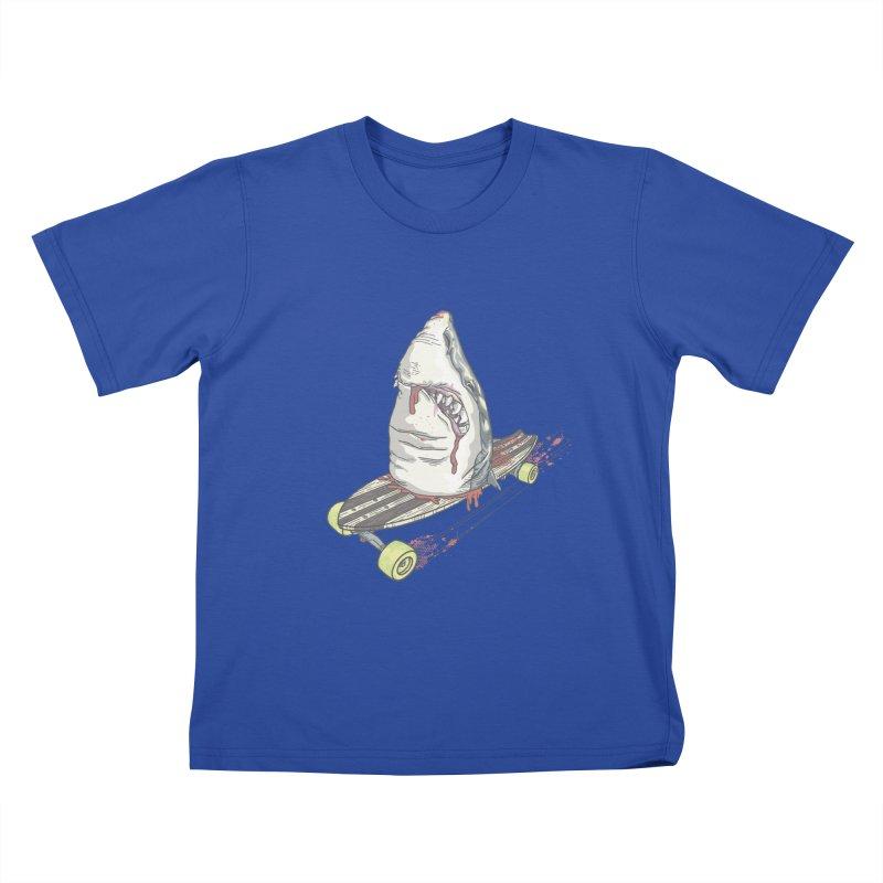Killing Time Kids T-Shirt by maus ventura's Artist Shop
