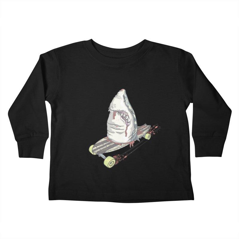 Killing Time Kids Toddler Longsleeve T-Shirt by maus ventura's Artist Shop