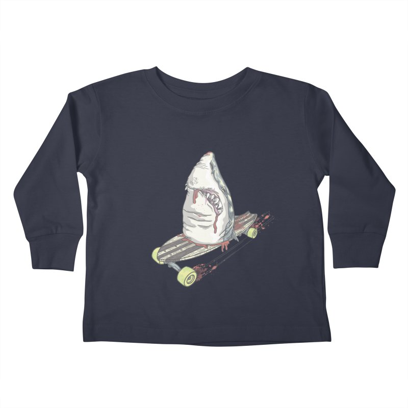 Killing Time Kids Toddler Longsleeve T-Shirt by maus ventura's Artist Shop