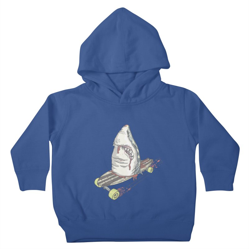 Killing Time Kids Toddler Pullover Hoody by maus ventura's Artist Shop