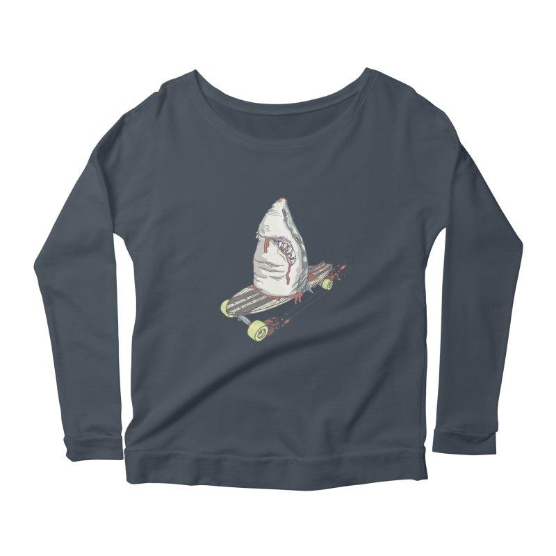 Killing Time Women's Scoop Neck Longsleeve T-Shirt by maus ventura's Artist Shop