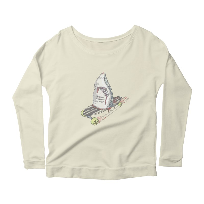 Killing Time Women's Scoop Neck Longsleeve T-Shirt by maus ventura's Artist Shop