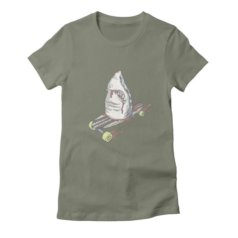 Killing Time Women's Fitted T-Shirt by maus ventura's Artist Shop