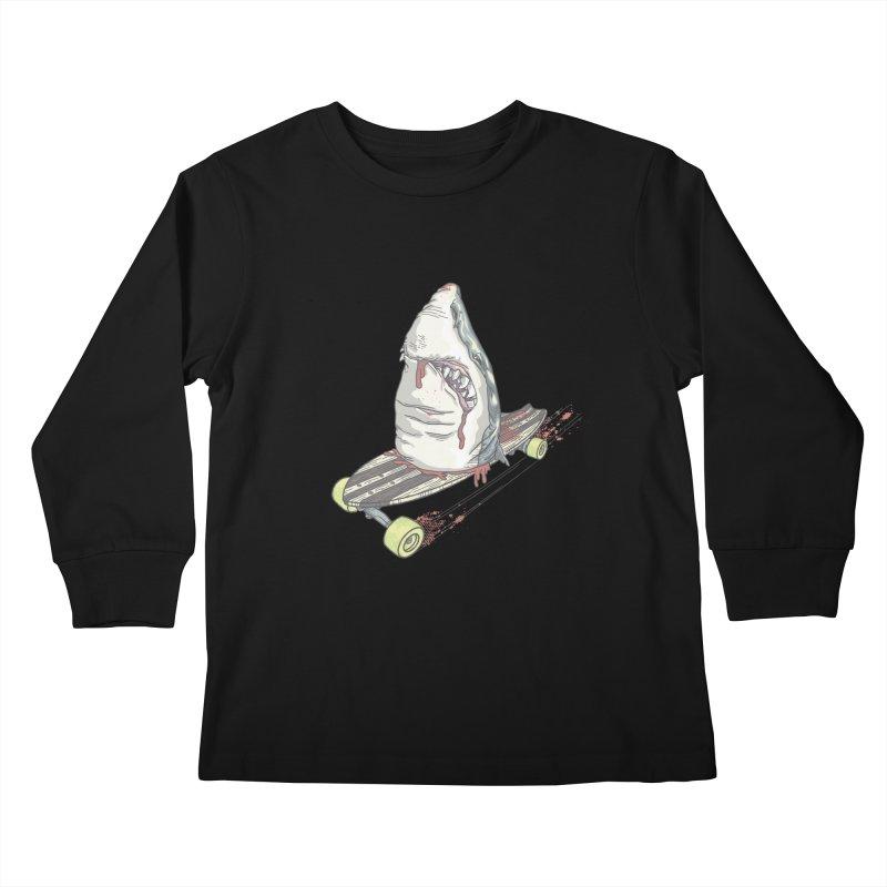 Killing Time Kids Longsleeve T-Shirt by maus ventura's Artist Shop