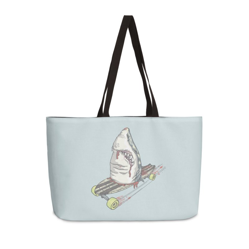Killing Time Accessories Weekender Bag Bag by maus ventura's Artist Shop