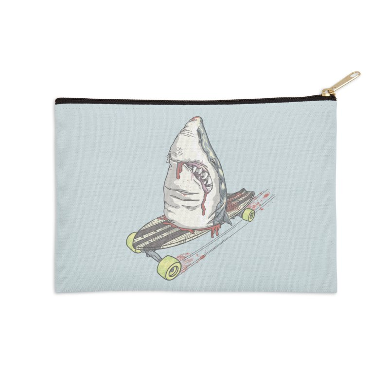 Killing Time Accessories Zip Pouch by maus ventura's Artist Shop