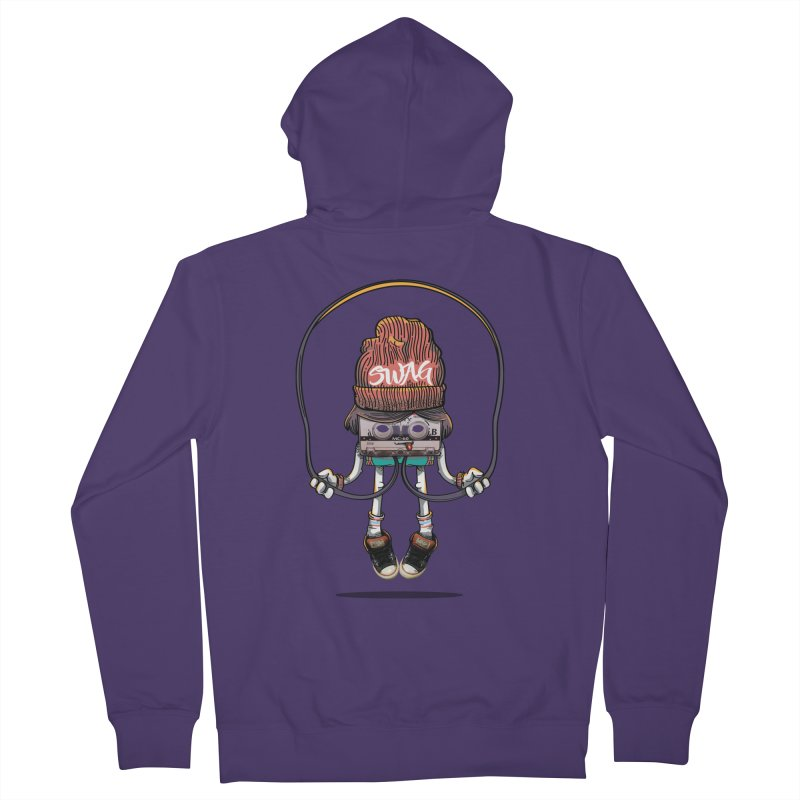 Swag Women's French Terry Zip-Up Hoody by maus ventura's Artist Shop
