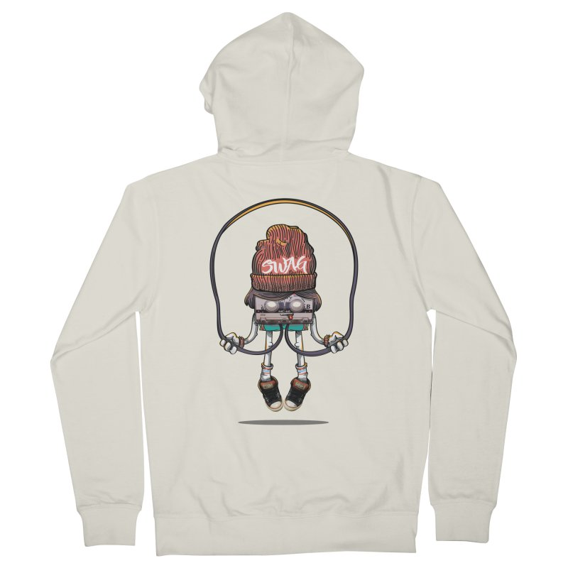 Swag Women's Zip-Up Hoody by maus ventura's Artist Shop
