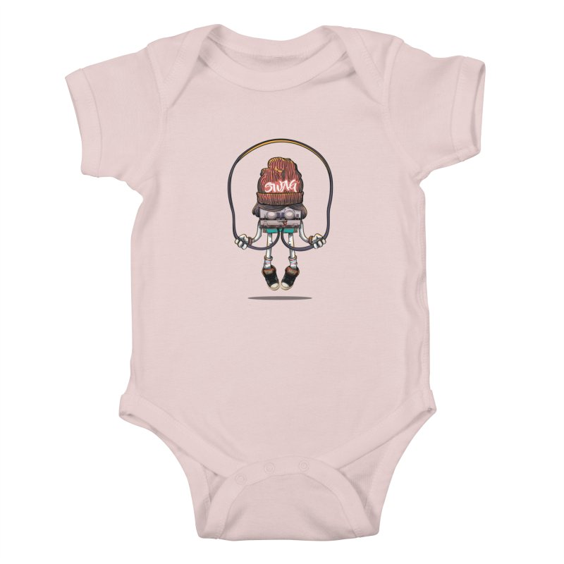 Swag Kids Baby Bodysuit by maus ventura's Artist Shop