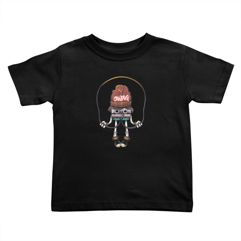 Swag Kids Toddler T-Shirt by maus ventura's Artist Shop