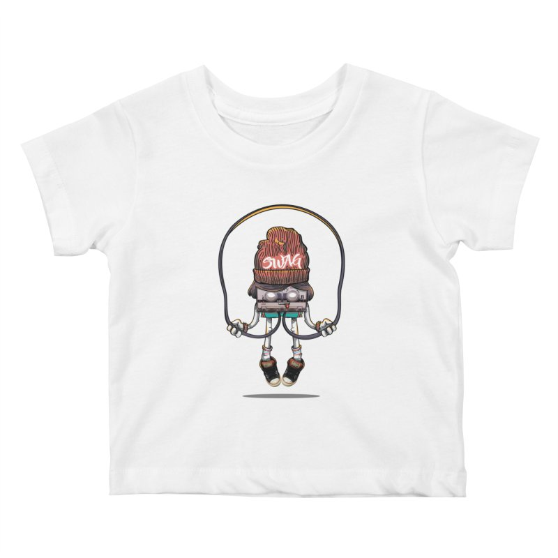 Swag Kids Baby T-Shirt by maus ventura's Artist Shop