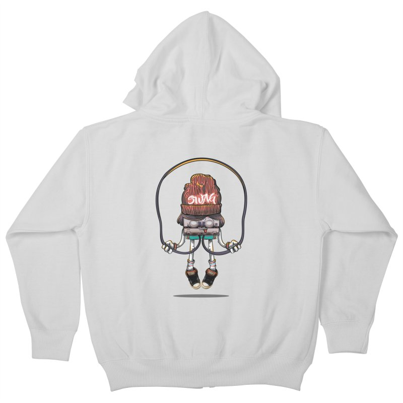 Swag Kids Zip-Up Hoody by maus ventura's Artist Shop