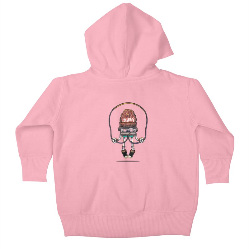 Swag Kids Baby Zip-Up Hoody by maus ventura's Artist Shop