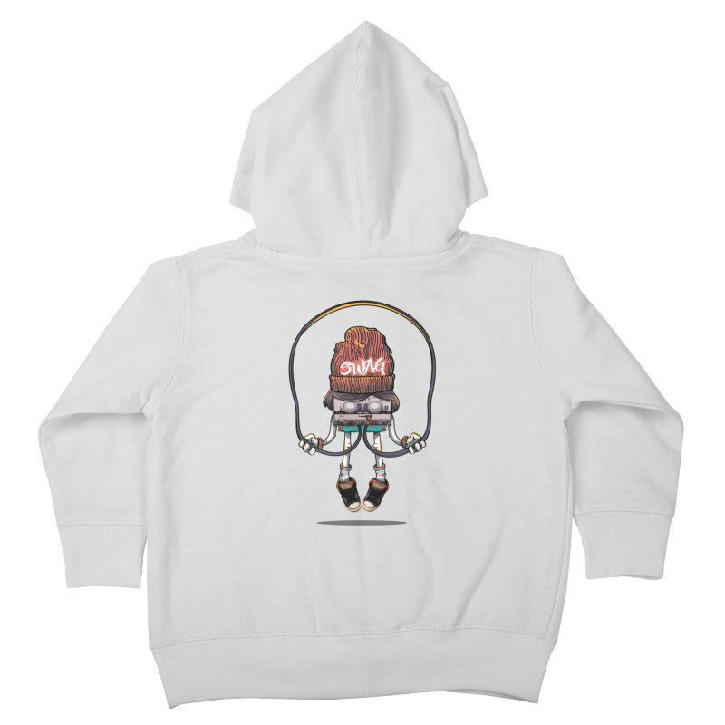 Swag Kids Toddler Zip-Up Hoody by maus ventura's Artist Shop