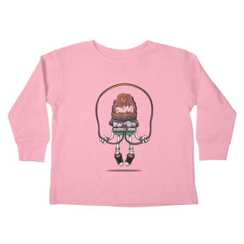 Swag Kids Toddler Longsleeve T-Shirt by maus ventura's Artist Shop