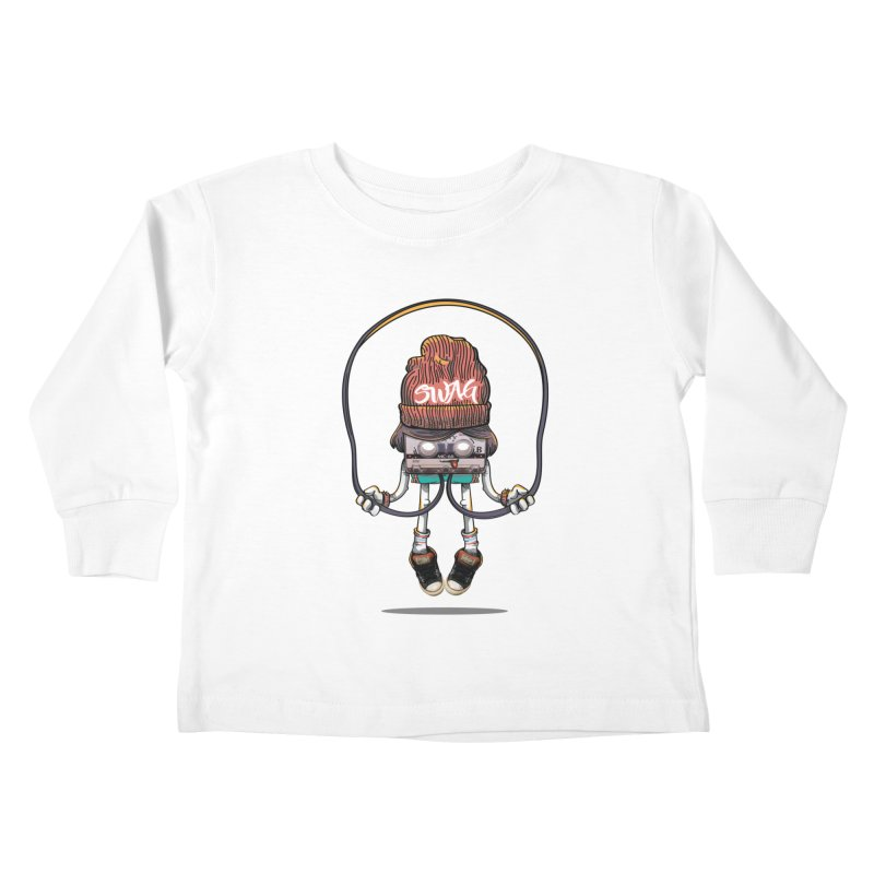 Swag Kids Toddler Longsleeve T-Shirt by maus ventura's Artist Shop