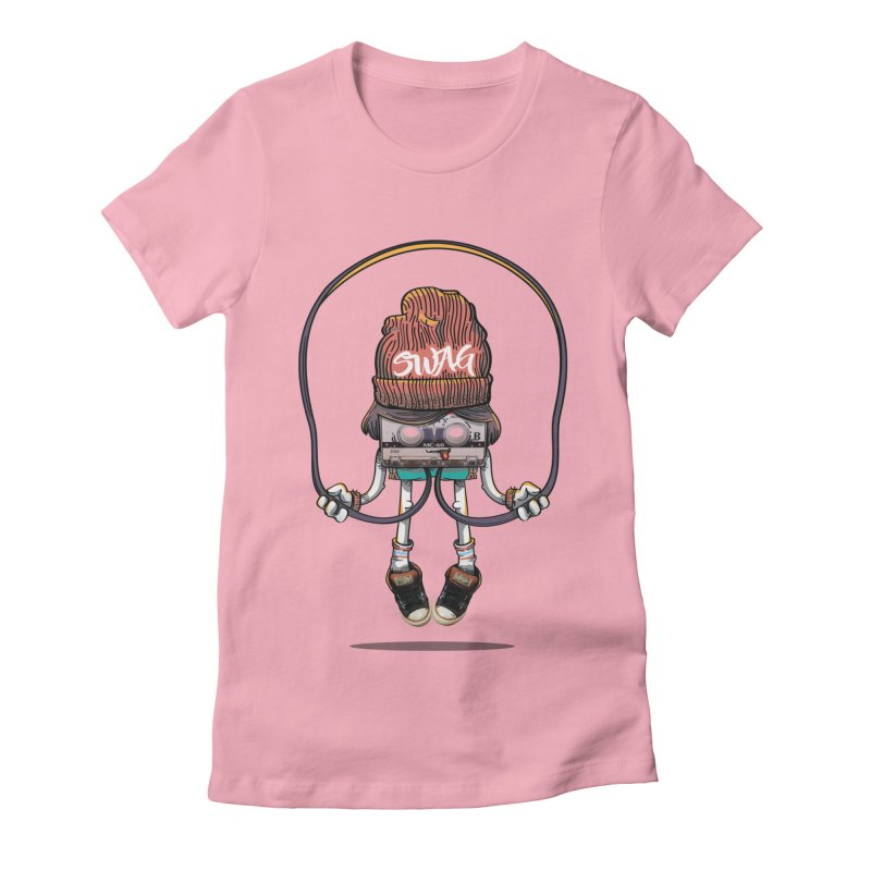 Swag Women's Fitted T-Shirt by maus ventura's Artist Shop