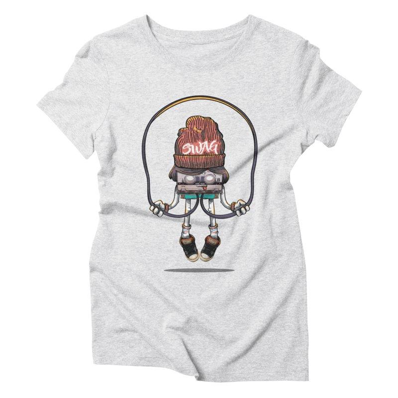 Swag Women's Triblend T-Shirt by maus ventura's Artist Shop