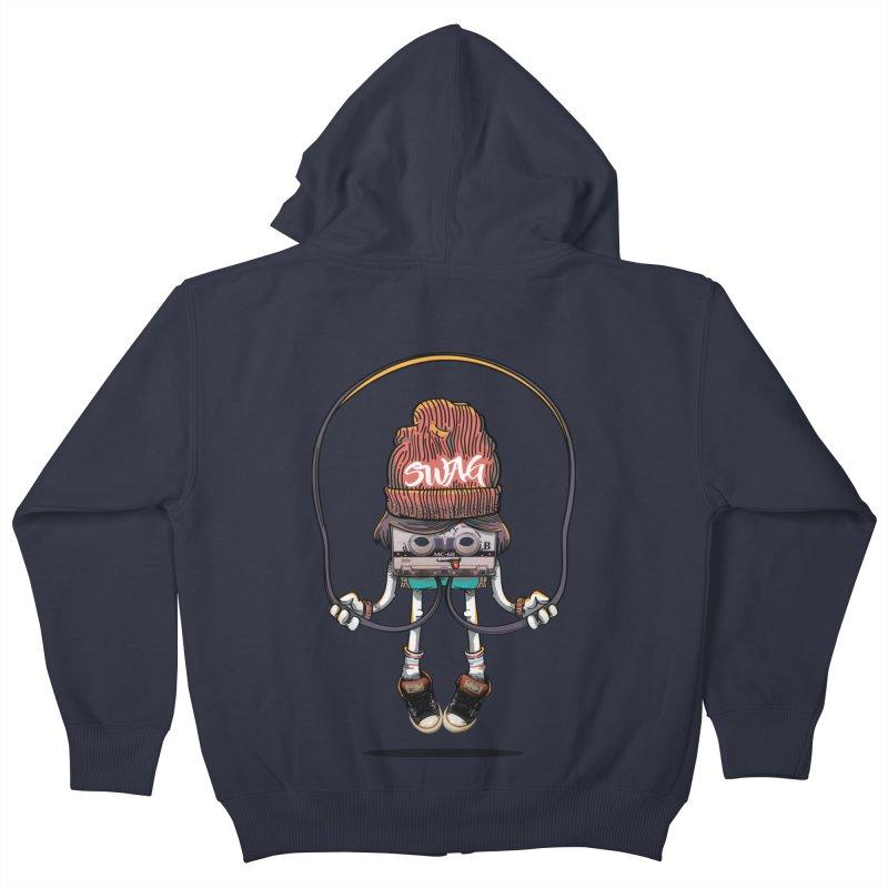 Swag Kids Zip-Up Hoody by maus ventura's Artist Shop