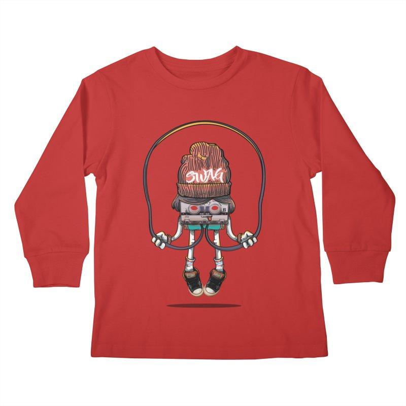 Swag Kids Longsleeve T-Shirt by maus ventura's Artist Shop