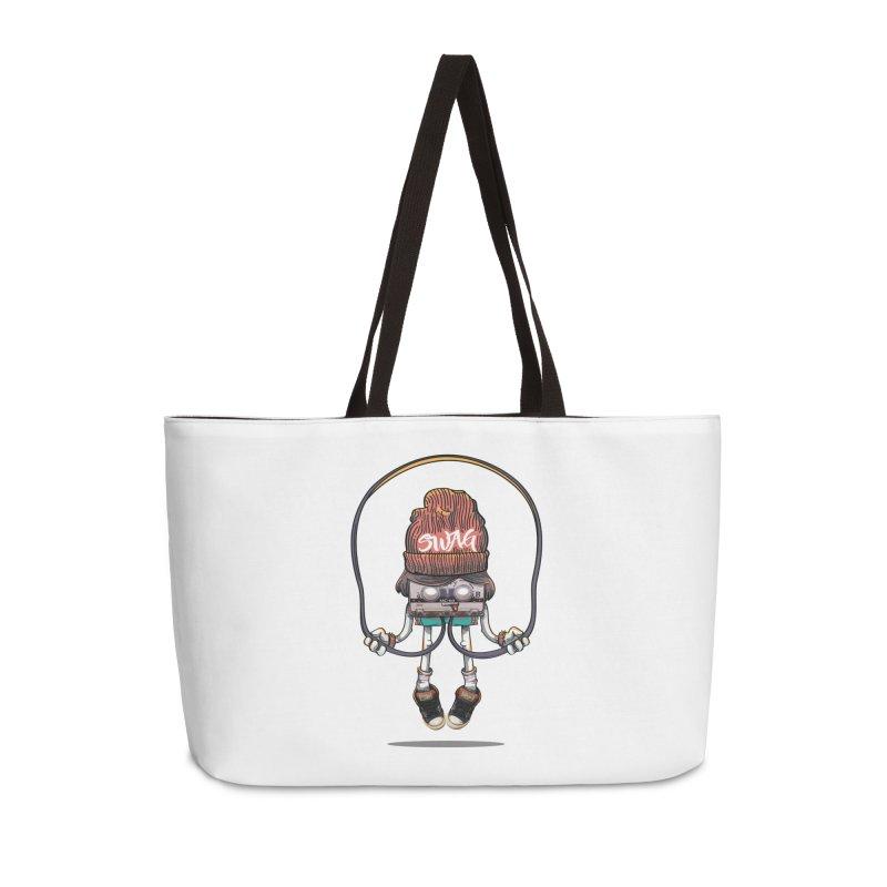 Swag Accessories Weekender Bag Bag by maus ventura's Artist Shop