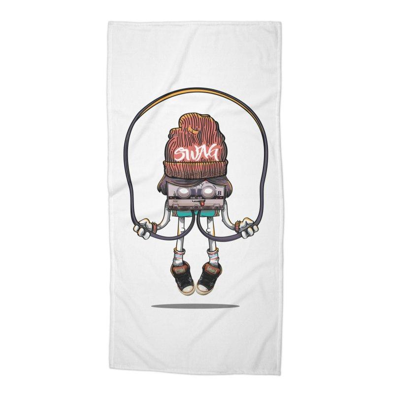 Swag Accessories Beach Towel by maus ventura's Artist Shop