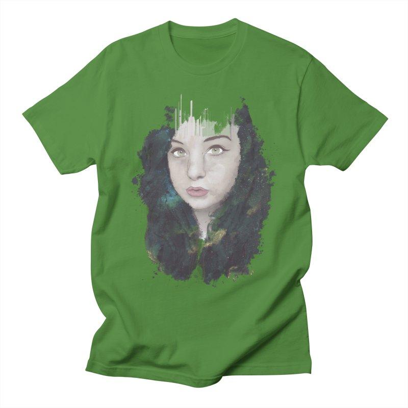 Space Nymph Men's T-shirt by Maverick's Artist Shop