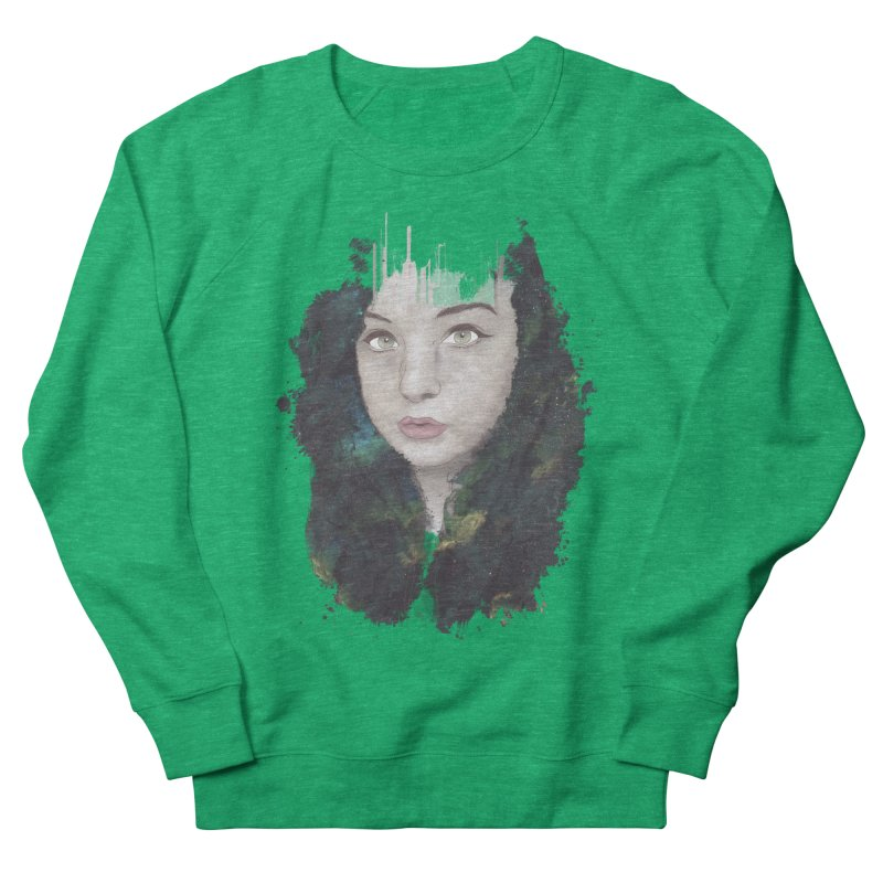 Space Nymph Women's Sweatshirt by Maverick's Artist Shop
