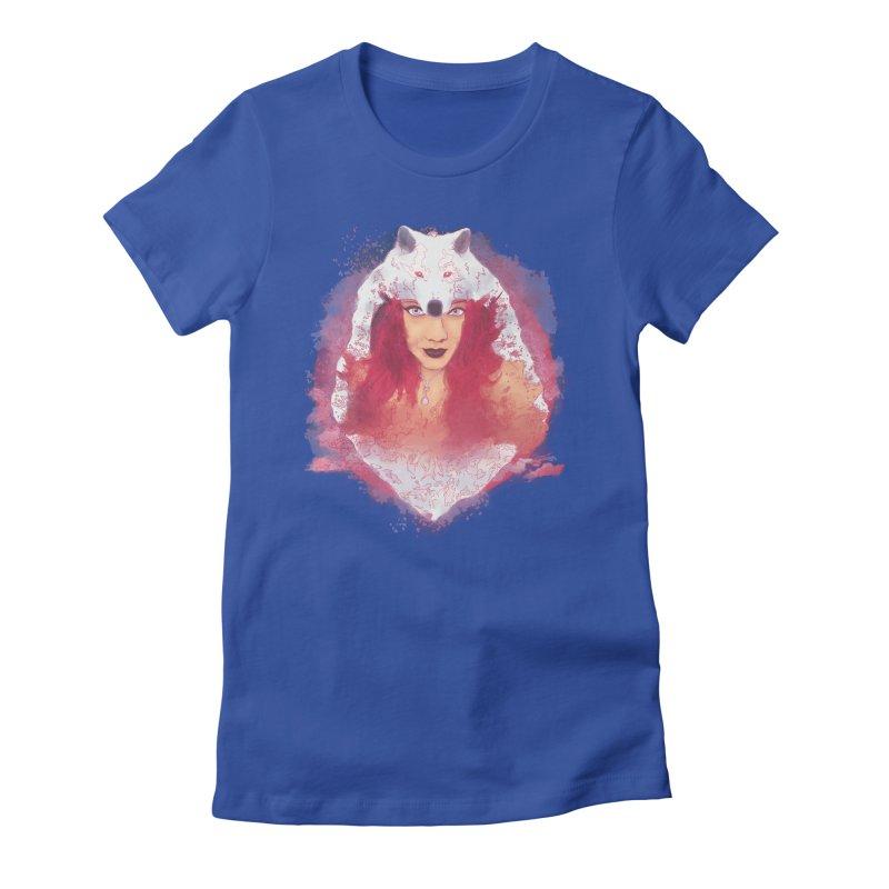 Ulfhednar Women's Fitted T-Shirt by Maverick's Artist Shop